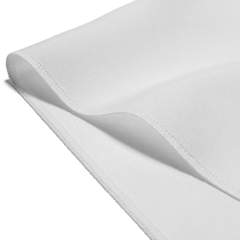 "Spun Polyester Tablecloths 110"" Round"