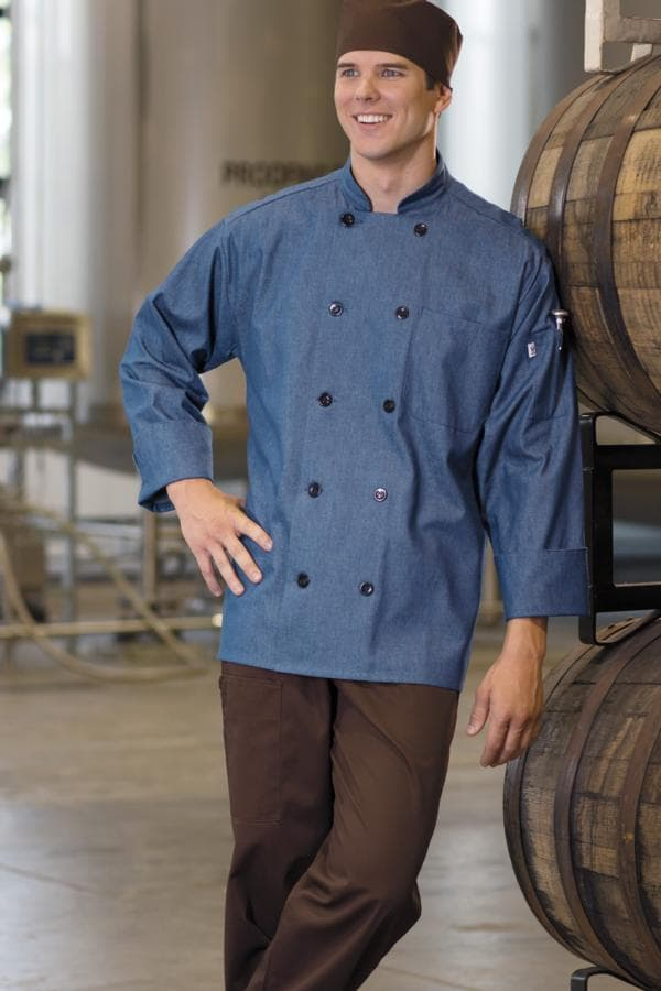Chambray Chef Coat by Uncommon Threads