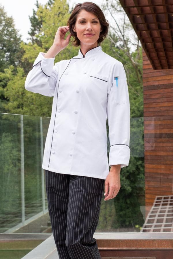 Lia Chef Coat (Women's) by Uncommon Threads