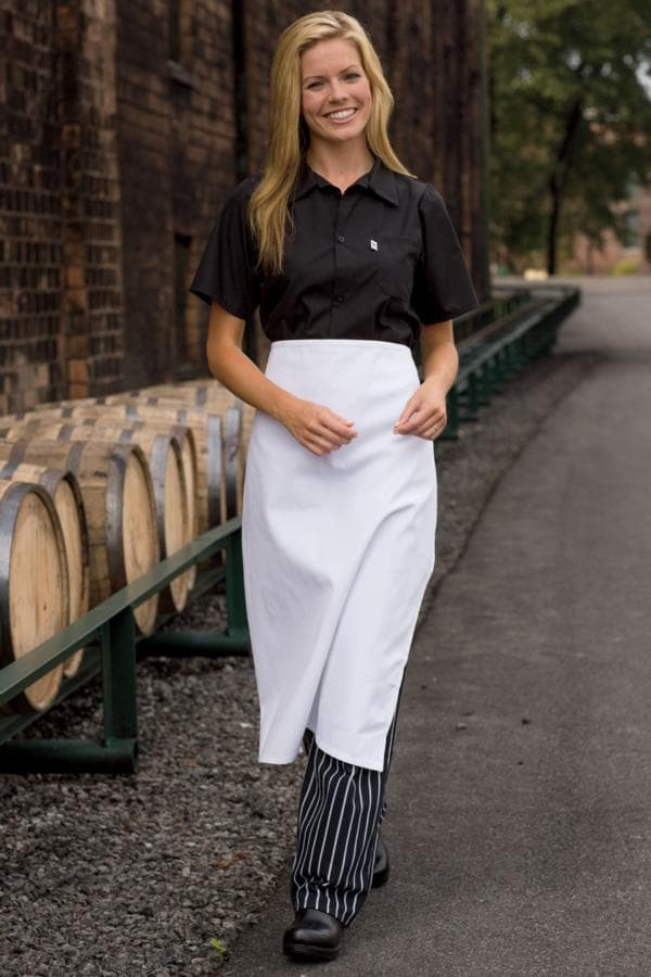 "Bistro Aprons 28""W x 33""L - NO POCKETS"