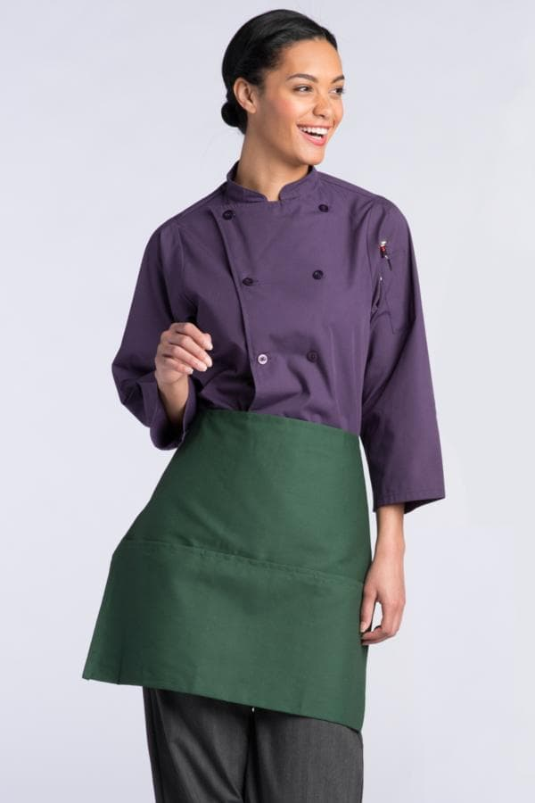 "Waist Aprons 22""W x 18""L with 3 Lower Pockets"