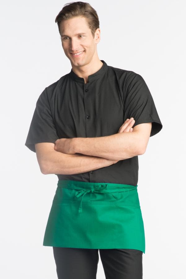 "Waist Aprons 23""W x 11""L with 3 Lower Pockets"