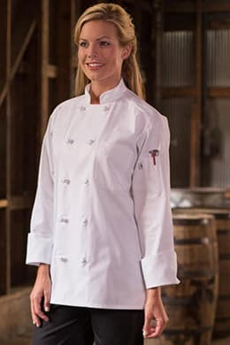 Classic Knot Chef Coat by Uncommon Threads