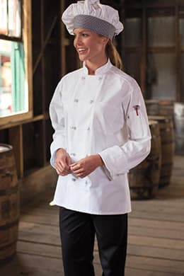 Classic Knot Chef Coat (Cotton) by Uncommon Threads