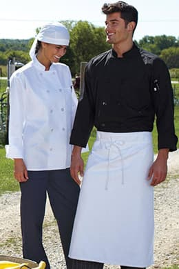 Classic Poplin Chef Coat (with Mesh) by Uncommon Threads