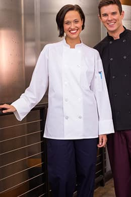 Classic Poplin Chef Coat by Uncommon Threads