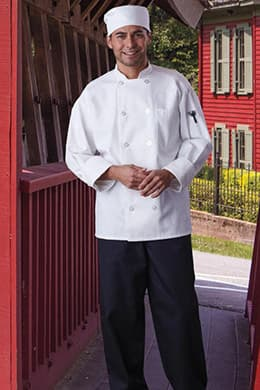 Classic Chef Coat (with Mesh) by Uncommon Threads