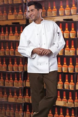 Classic Knot Chef Coat (with Mesh) by Uncommon Threads