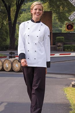 Rialto Chef Coat by Uncommon Threads
