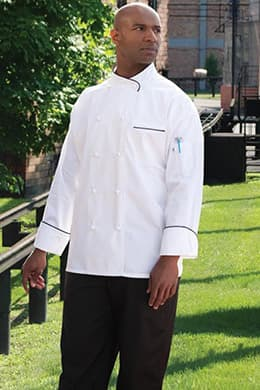 Luxembourg Chef Coat by Uncommon Threads