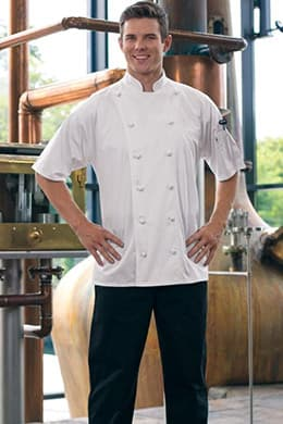 Master Chef Coat (Short Sleeves) by Uncommon Threads