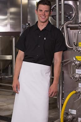 Snap Utility Cook Shirt by Uncommon Threads