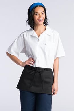 "Waist Aprons 23""W x 11""L with 2 Lower Center Pockets"